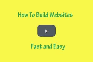 how to build websites
